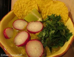 posole verde ready to eat