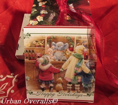 assortment of recycled gift boxes
