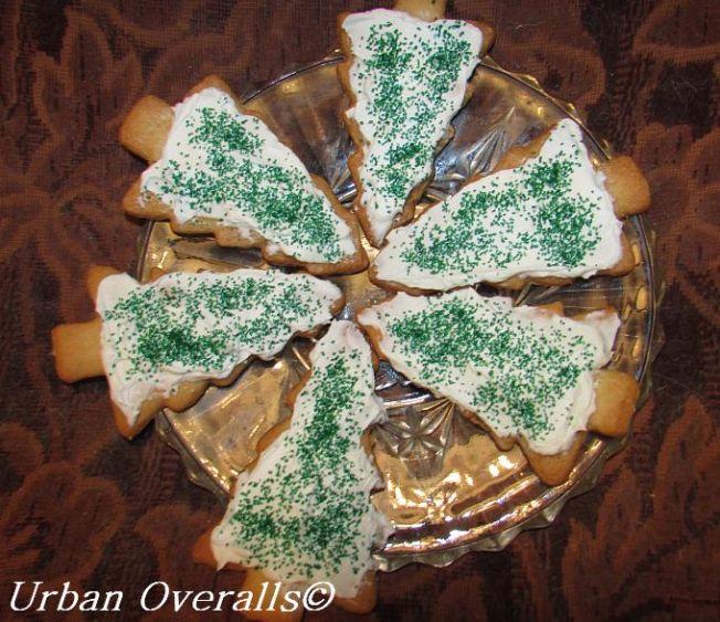plate of cookies for Santa