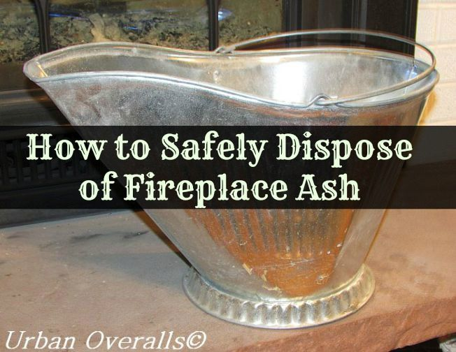 How to Safely Dispose of Fireplace Ash Urban Overalls