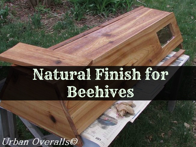 natural finish for beehive